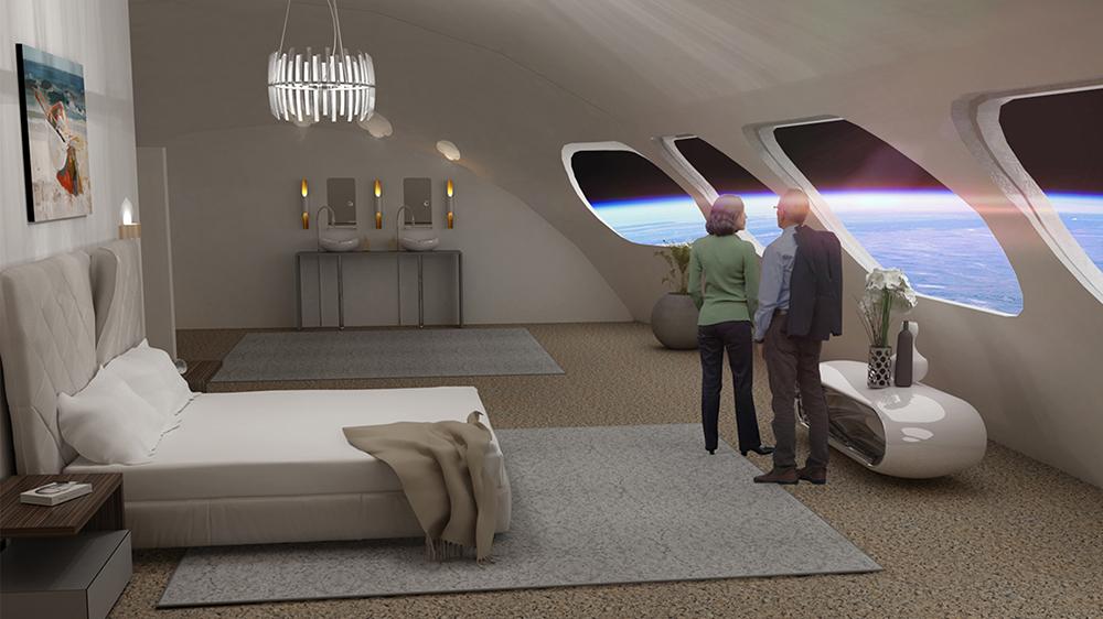Khách sạn ngoài không gian