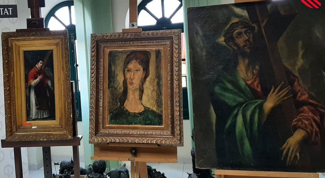 fake artworks spain