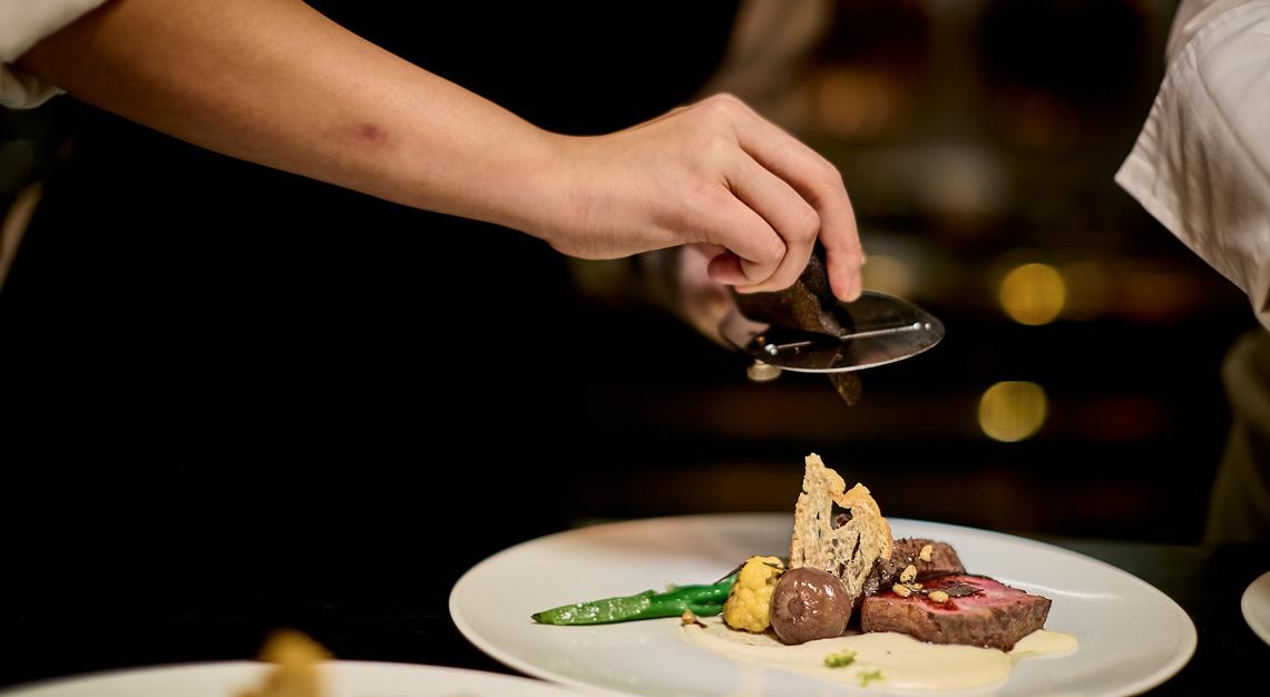 Robb Report Singapore 100th issue, Capella Singapore's Chef's Table