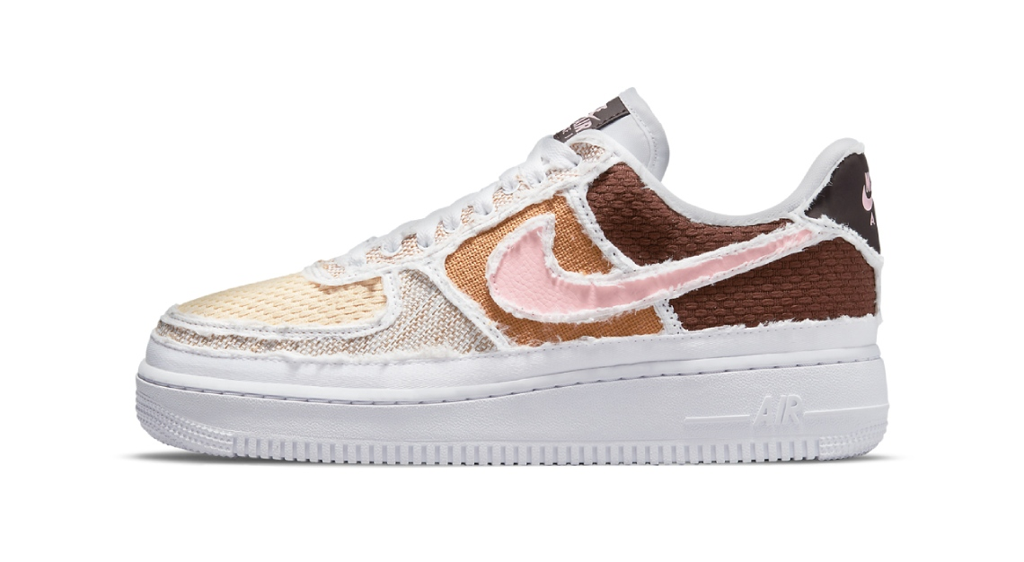 Nike air force 1 texture pastel reveal