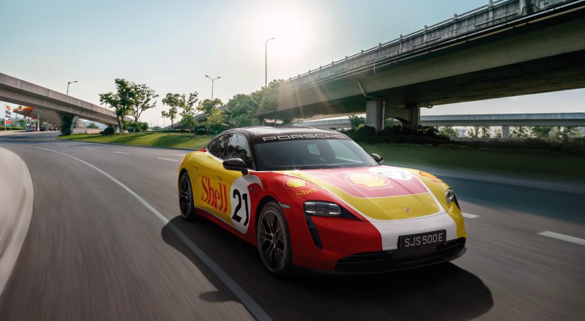between Porsche Asia Pacific and Shell cross-border high performance (HPC) network