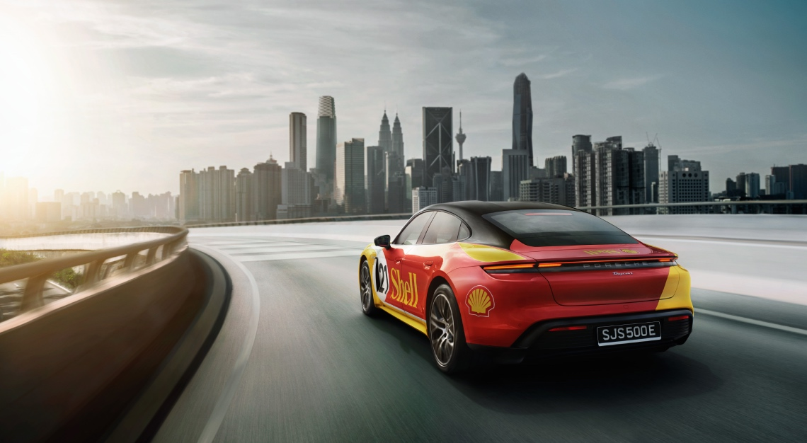 Porsche Asia Pacific and Shell cross-border high performance (HPC) network