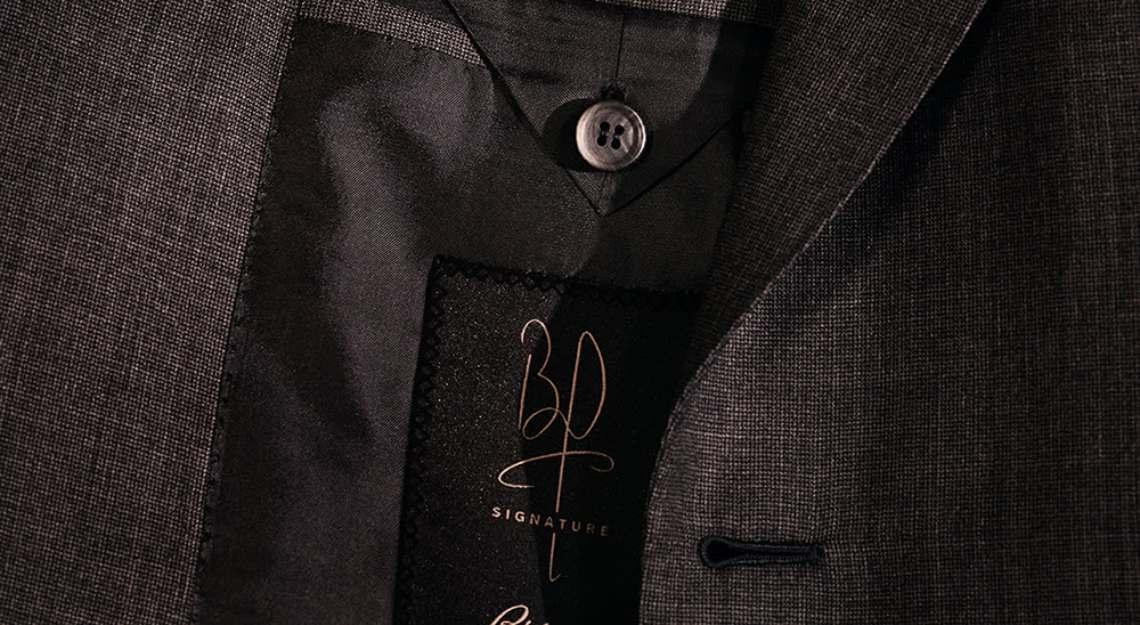 Brad Pitt Brioni BP Signature