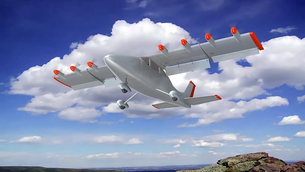 Bản vẽ chiếc Cessna của hãng Airflow.