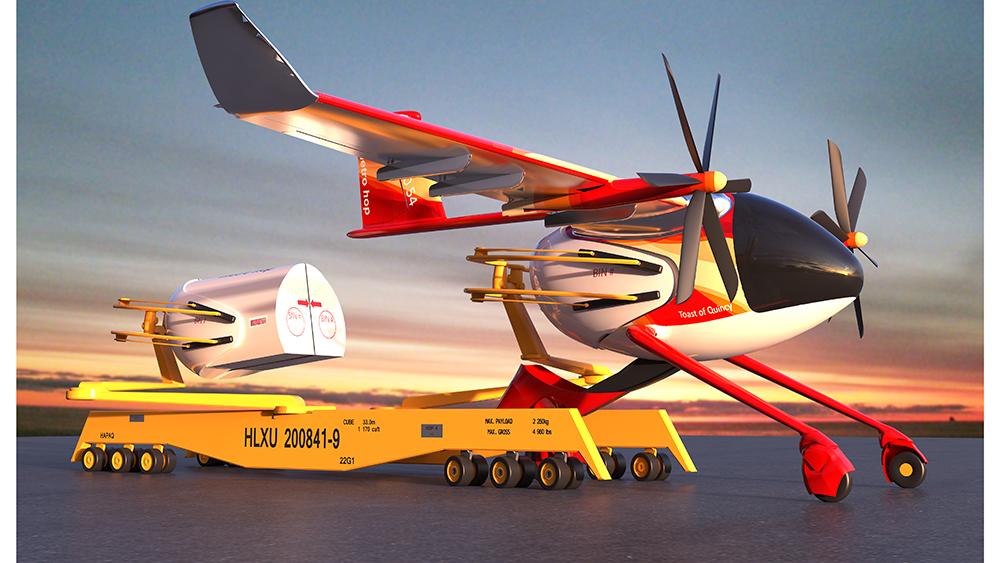 Máy bay chở hàng eSTOL của Metro Hop