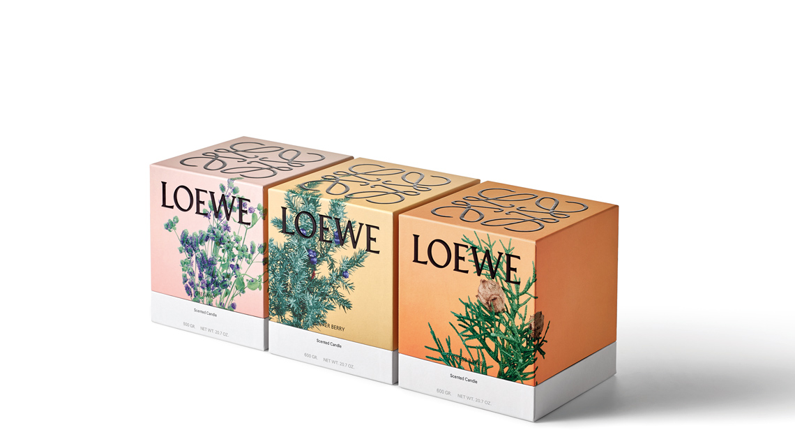 Loewe scented candles