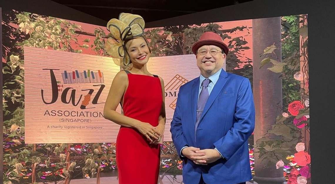 Glenda Chong Jeremy Monteiro Jazz Association Singapore virtual gala