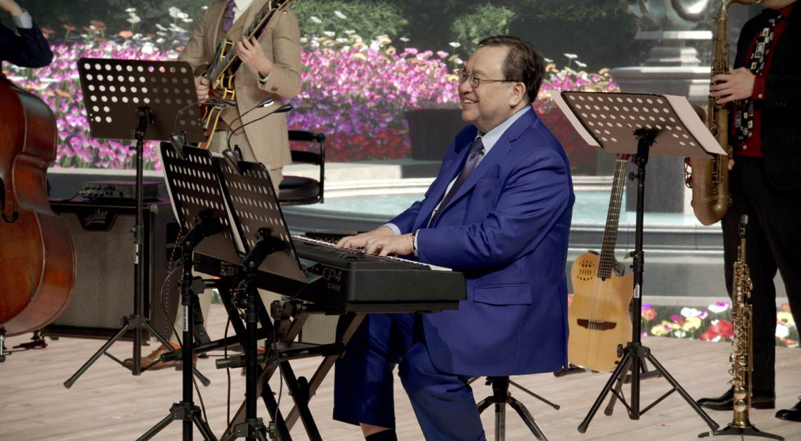Jeremy Monteiro Jazz Association of Singapore virtual gala