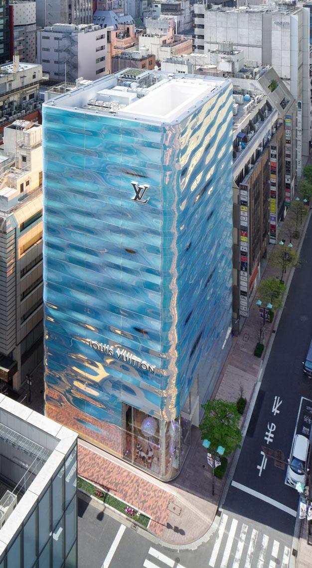 Louis Vuitton Ginza Namiki flagship
