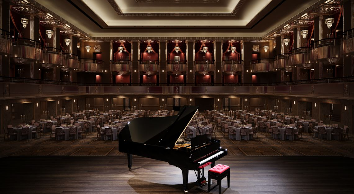 Grand Ballroom of The Waldorf Astoria New York