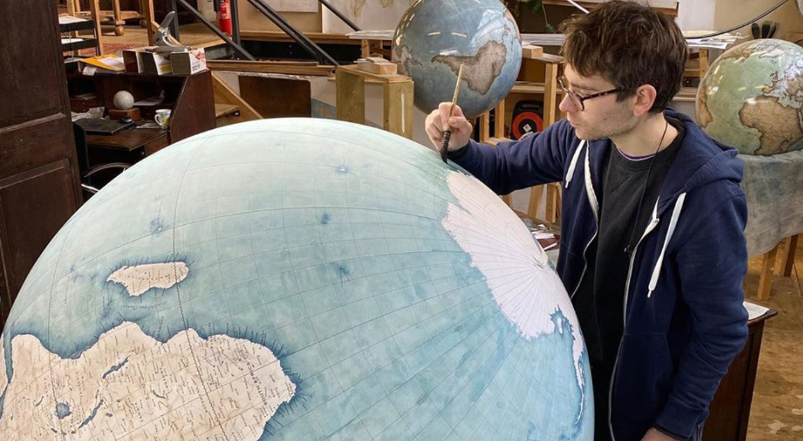 Bellerby & Co., globemaking