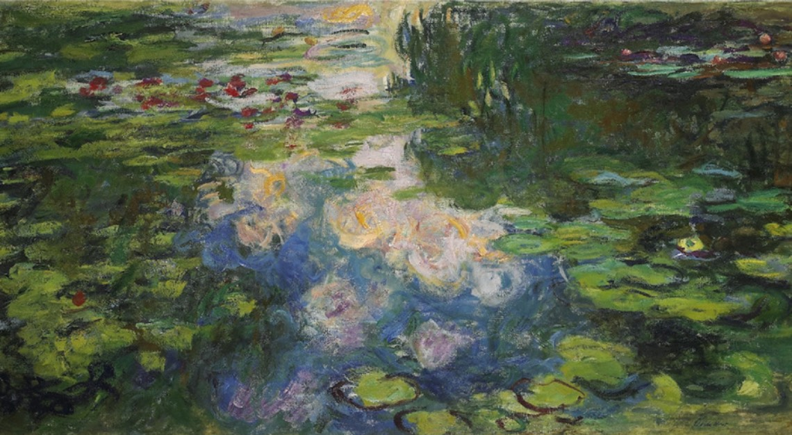 monet water lilies sotheby's