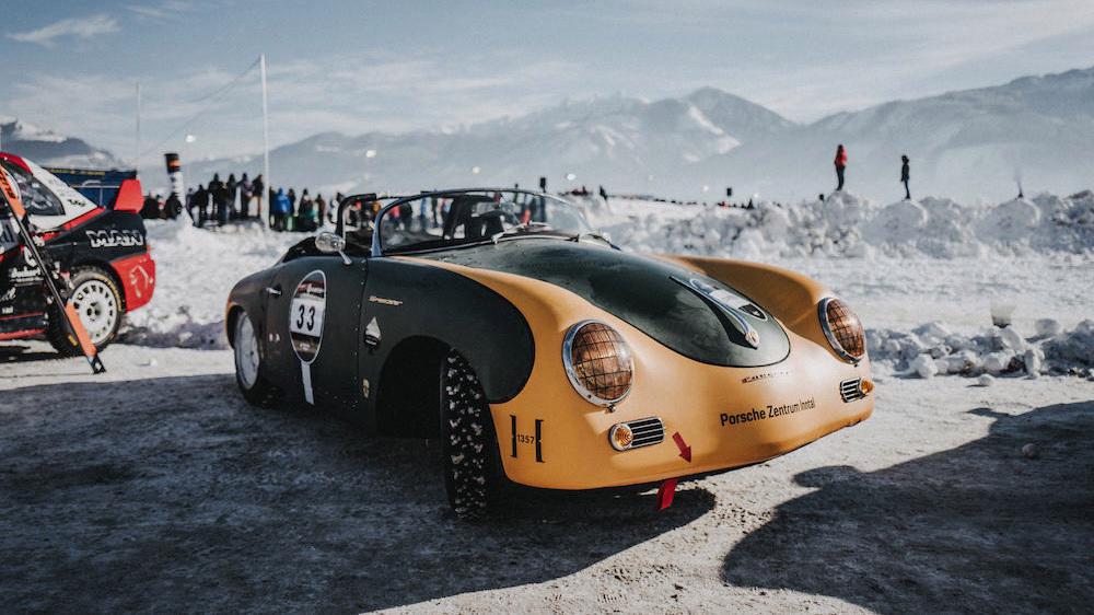 1956 Porsche 356A Ice Racer