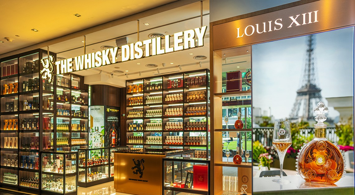 the whisky distillery louis xiii