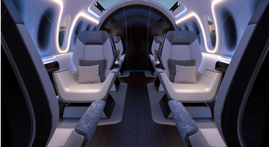 Aerion AS2 supersonic business jets