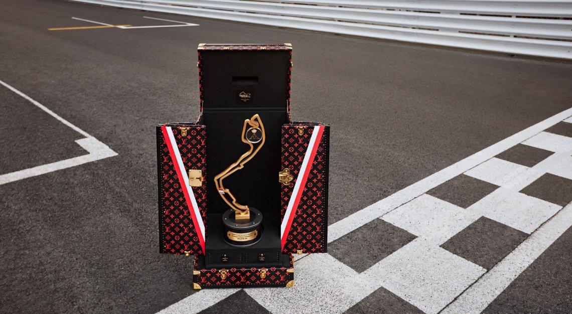 Louis Vuitton Trophy Travel Case Formula 1