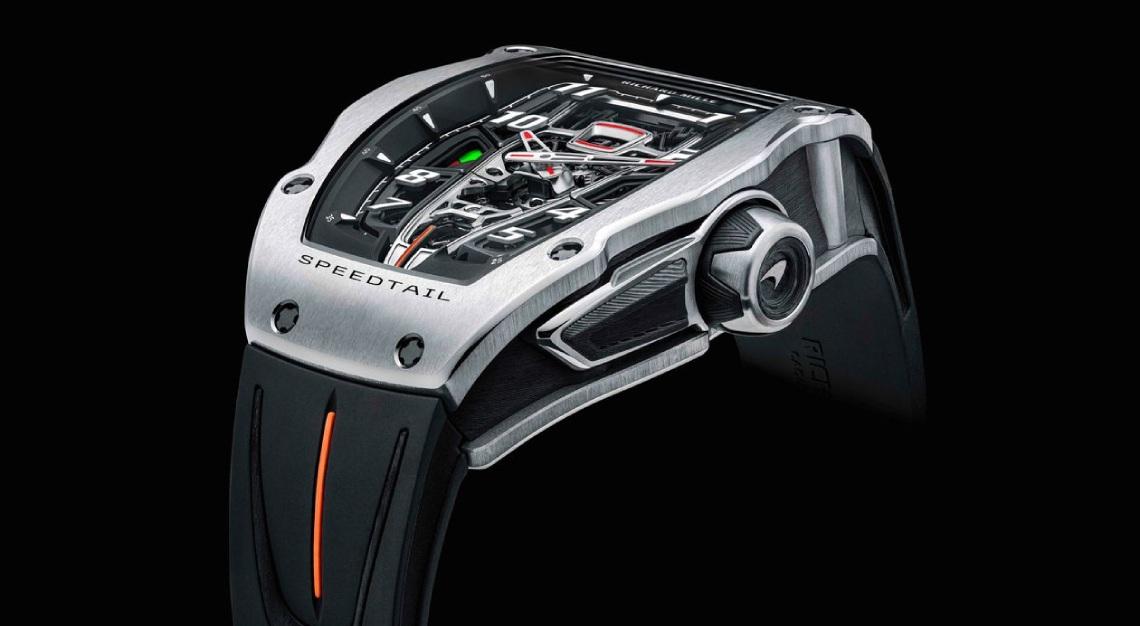 Mclaren richard mille Automatic Tourbillon McLaren Speedtail