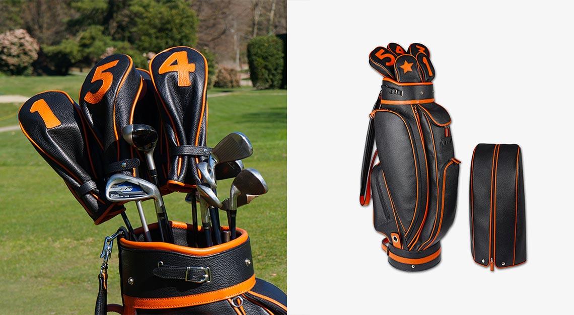 Valigeria Grignola Calfskin Golf Bag