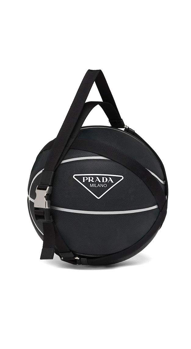 Prada Basketball with harness