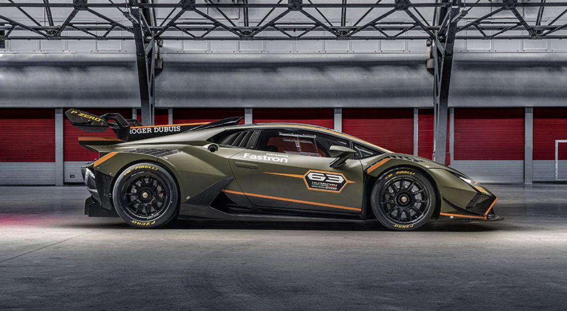 Lamborghini's Huracán Super Trofeo EVO2