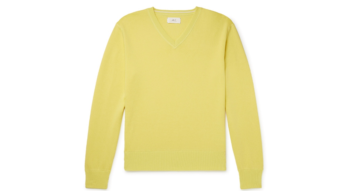 Mr P. Cotton-Blend Golf Sweater