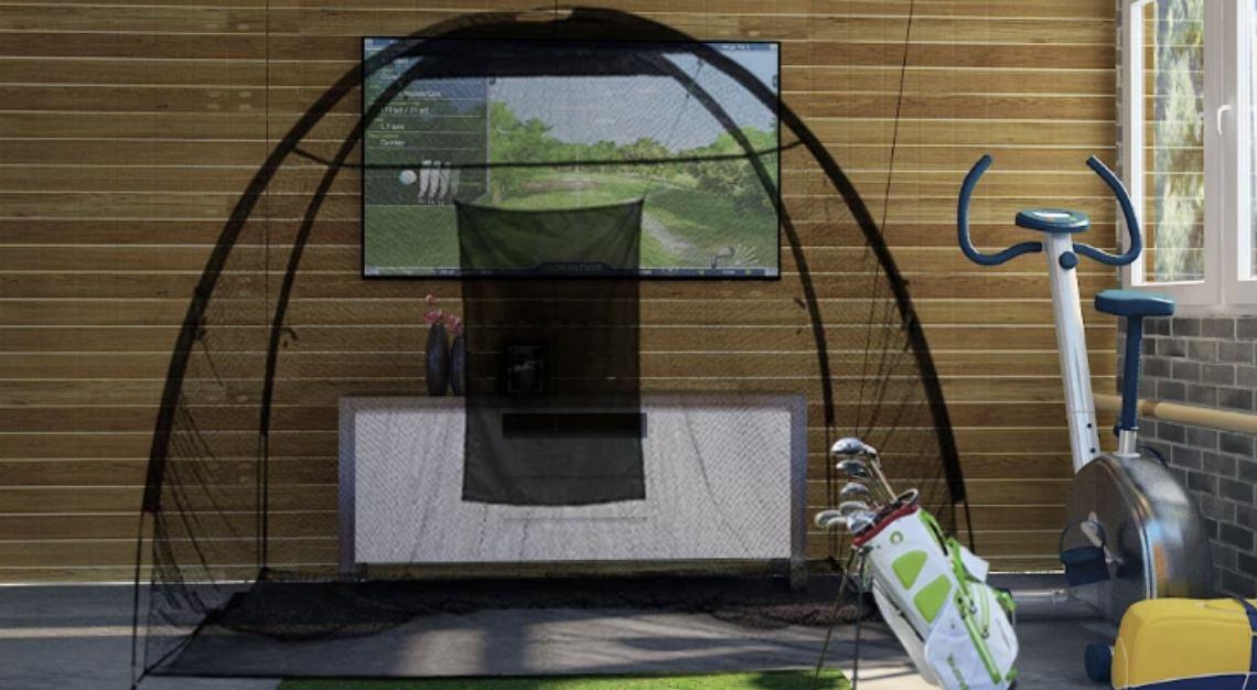 Optishot's Golf In A Box Simulator