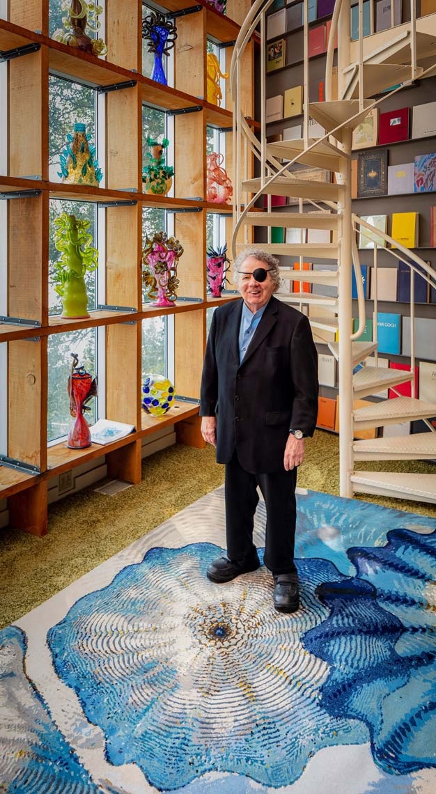 Dale Chihuly: Glass in Bloom exhibition