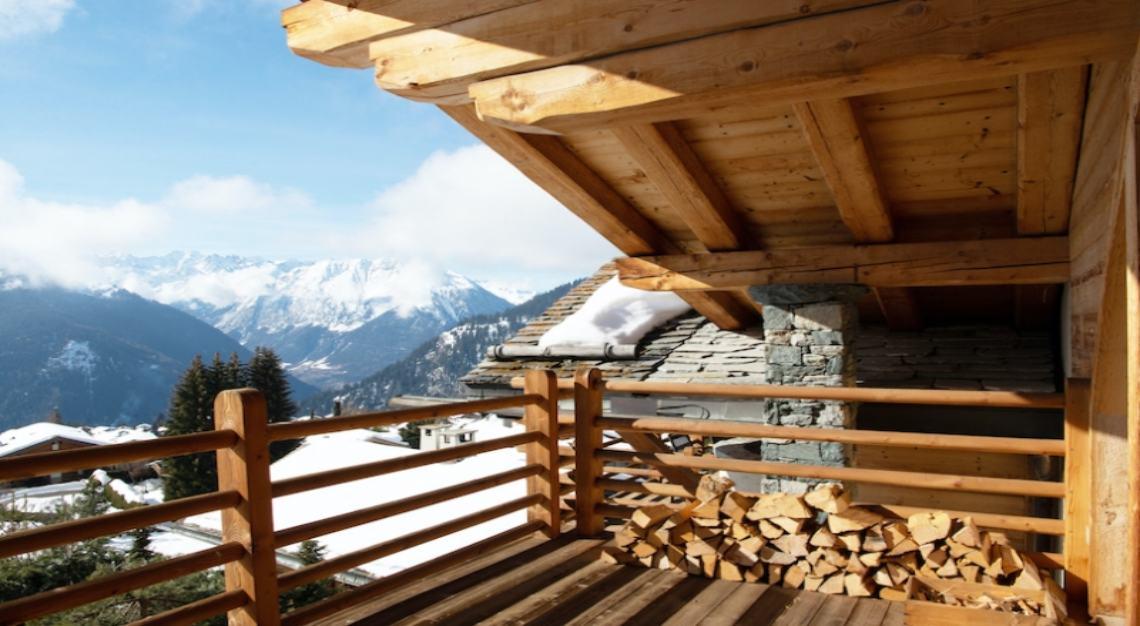 Valmont's ski chalet in Verbier
