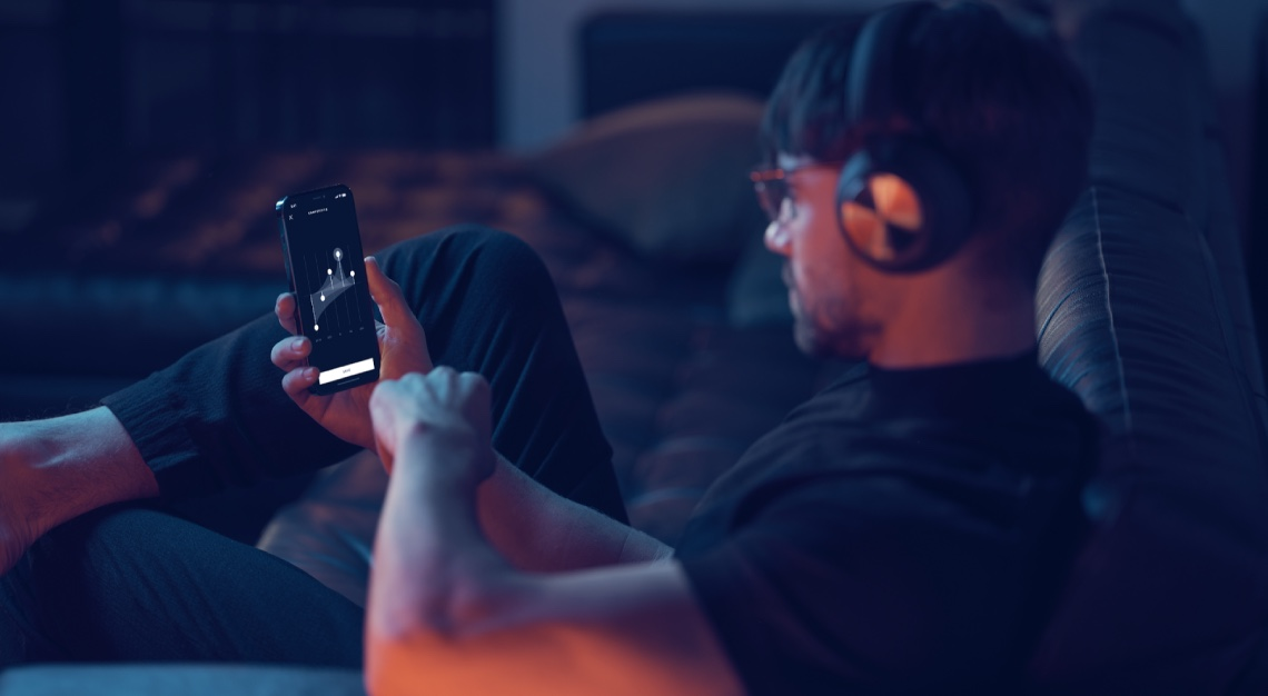 Bang & Olufsen beoplay portal wireless headphones
