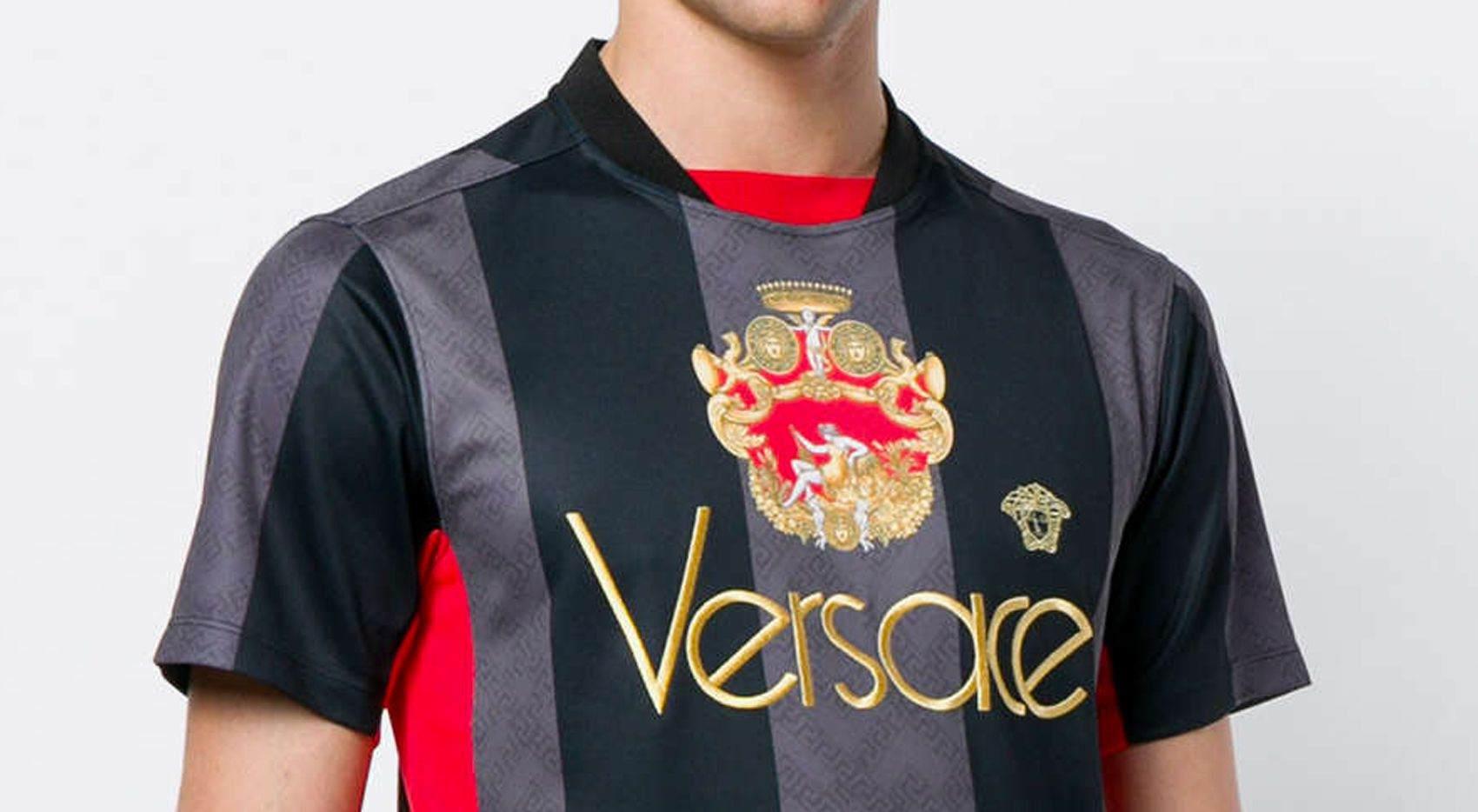 Versace football jersey