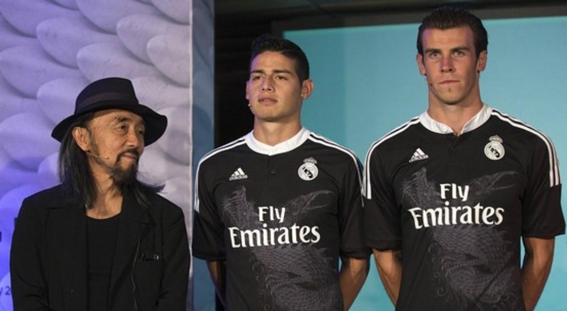Yohji Yamamoto Real Madrid kit
