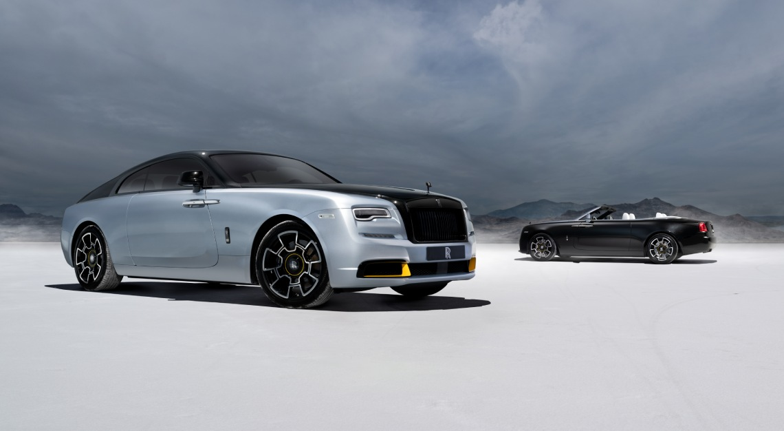 Rolls-Royce Dawn and Wraith Landspeed collection