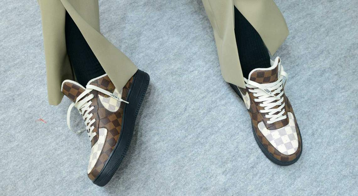 Louis Vuitton x Nike AF1