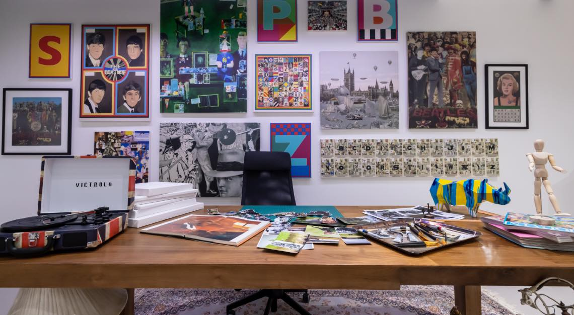 Sir Peter Blake x The Macallan Anecdotes of Ages Collection Gallery