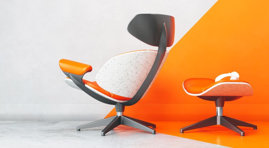 Eames lounge Ian callum
