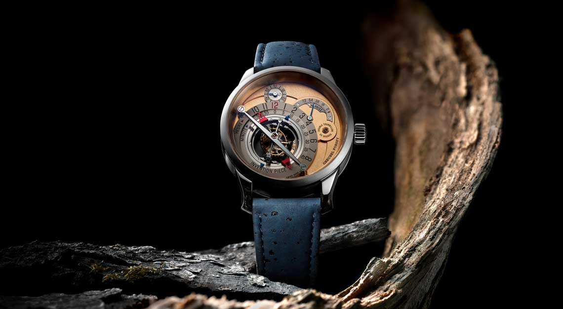 Vegan leather Greubel Forsey Invention Piece