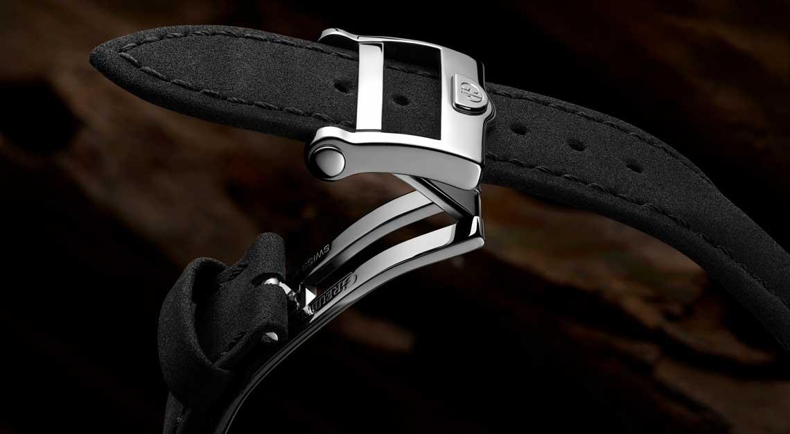 Vegan leather Greubel Forsey strap