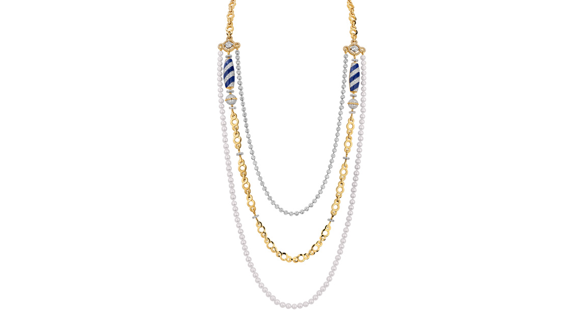 Fashion high jewellery Chanel necklace
