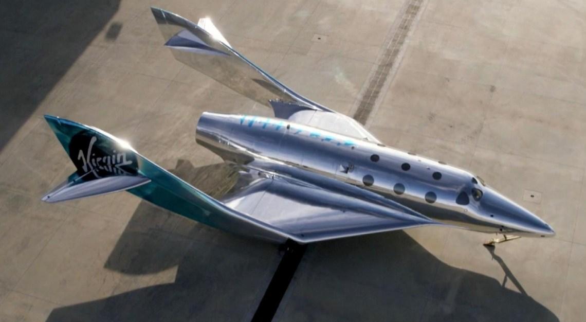Virgin Galactic spacecraft