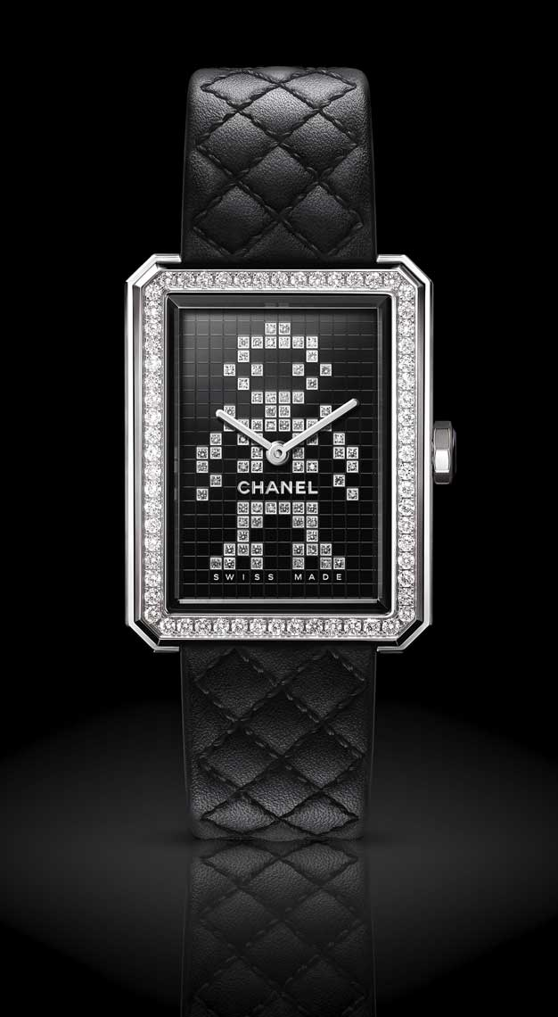 Rectangle watches Chanel Boy.Friend Electro