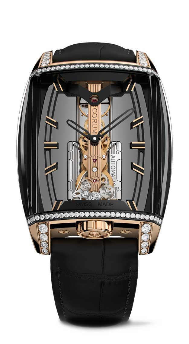 Rectangle watches Corum Golden Bridge Automatic