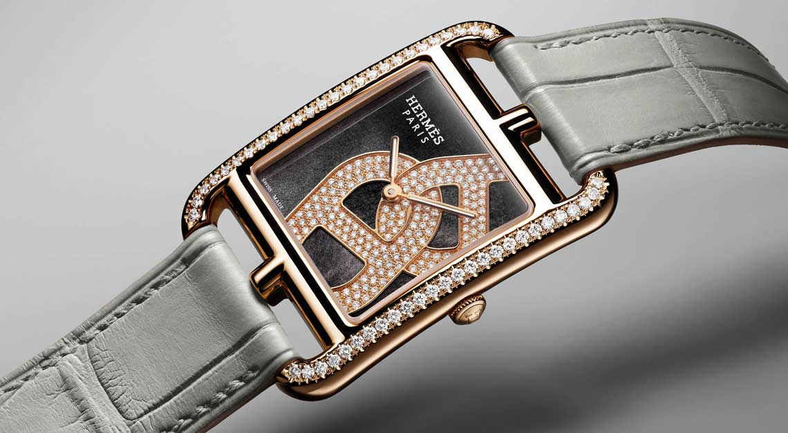 Rectangle watches Hermes Cape Cod