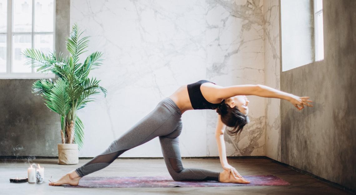Pilates low-impact workout