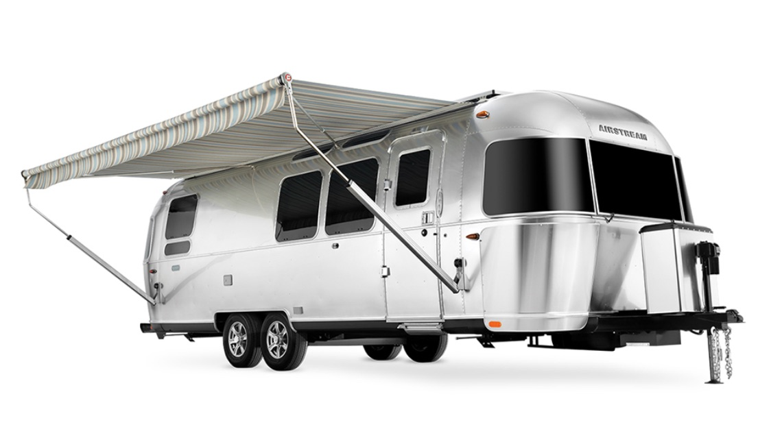 Airstream and Pottery Barn