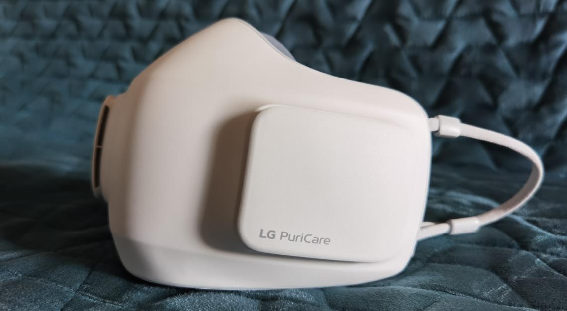 LG PuriCare air purifier mask