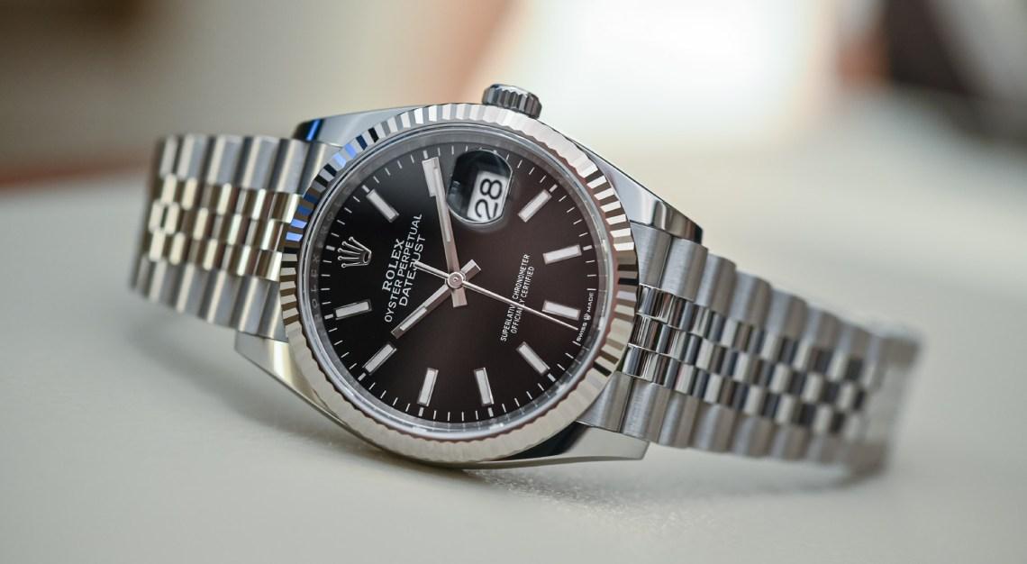 Rolex 36mm Datejust