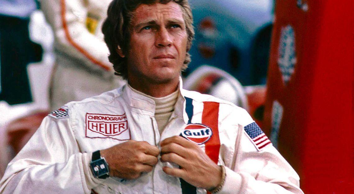 Steve McQueen and the Heuer Monaco