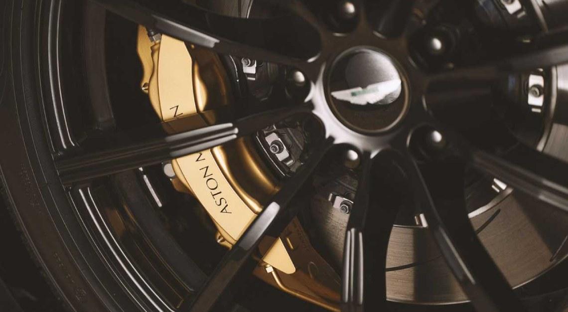 Aston Martin A3 Vantage Roadster retro wheels