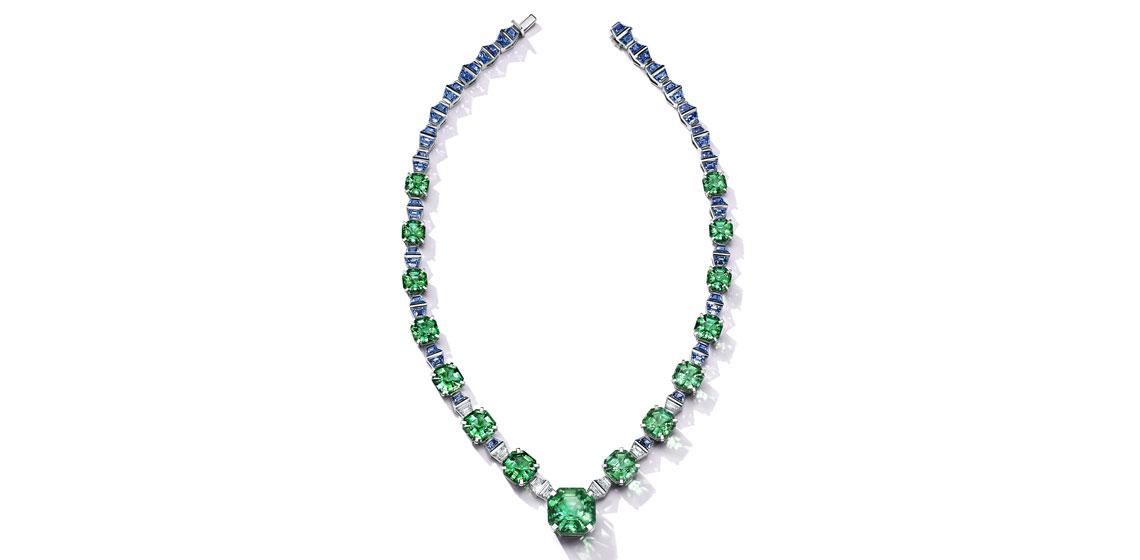 Tiffany Colors of Nature hj tourmaline sapphire