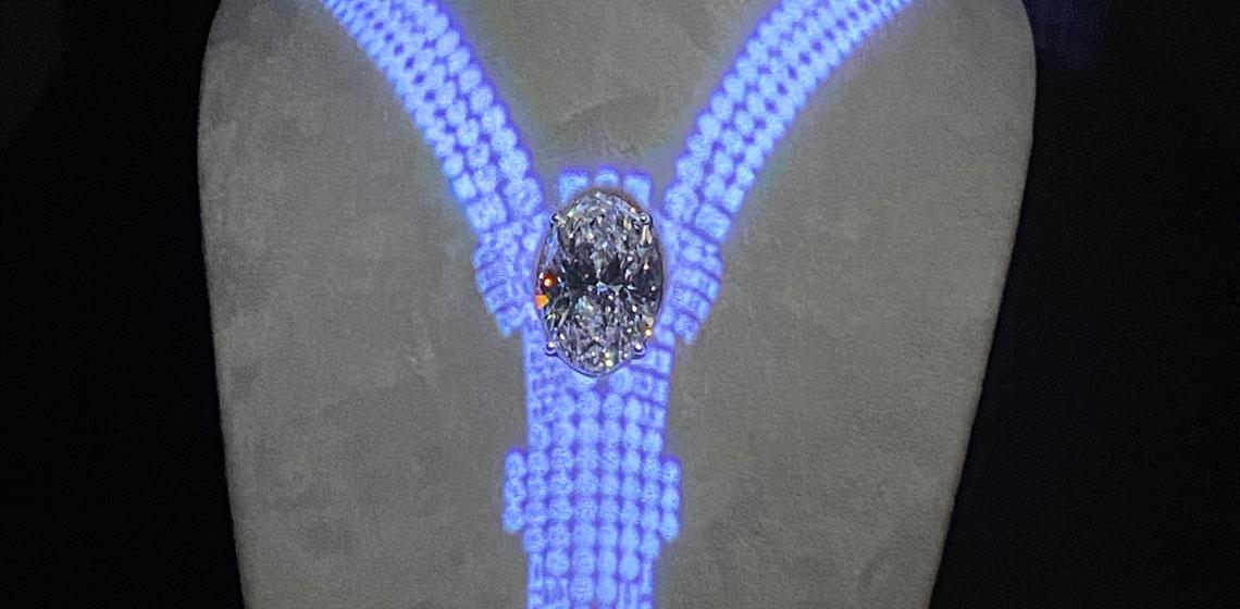 Tiffany Empire Diamond close up